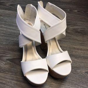 Michael Antonio Wedge Heels